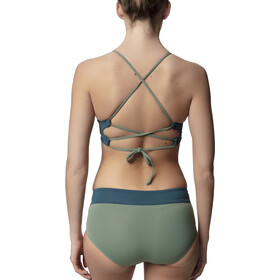 Houdini Cross Step Top Dame storm green